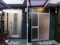 【玄関】採風機能が付いている玄関ドアを選択!