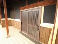リフォーム完成後 玄関(ペアガラス製)