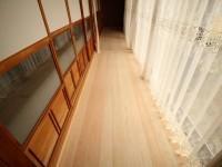 リフォーム後 縁側  奈良吉野産木材を利用。