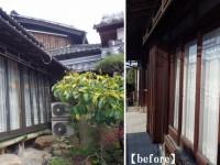 木製の窓から気密性の高いアルミサッシへ